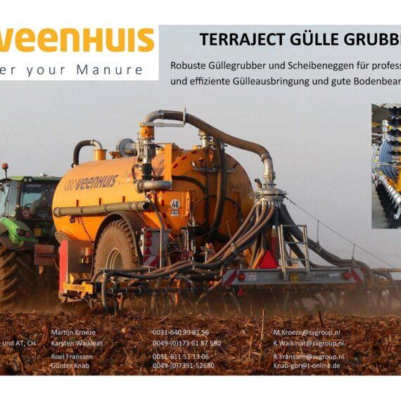 Veenhuis Terraject Grubber